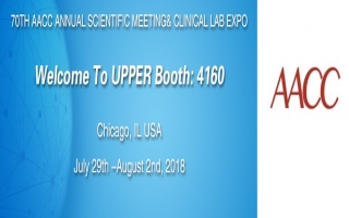 Upper Biotech will participate in the 70th AACC Annual Scientific Meeting & Clinical Lab Expo