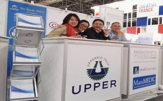 Welcome to UPPER booth in Medica